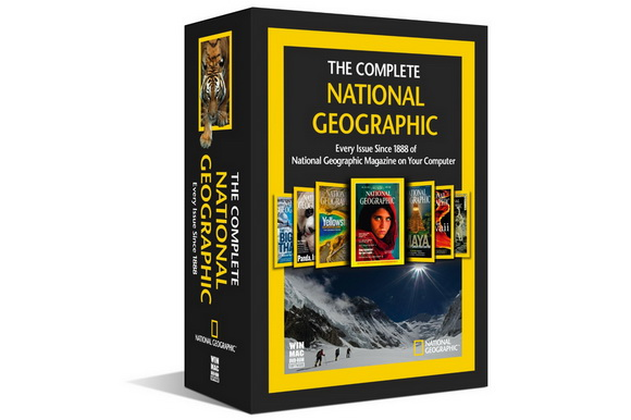 The Complete Collection of National Geographic magazines is one sale