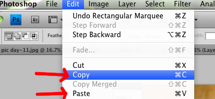 copy-paste Photoshop Tutorial: Removing Glare on Glasses by Merging 2 Images Photography Tips Photoshop Tips & Tutorials