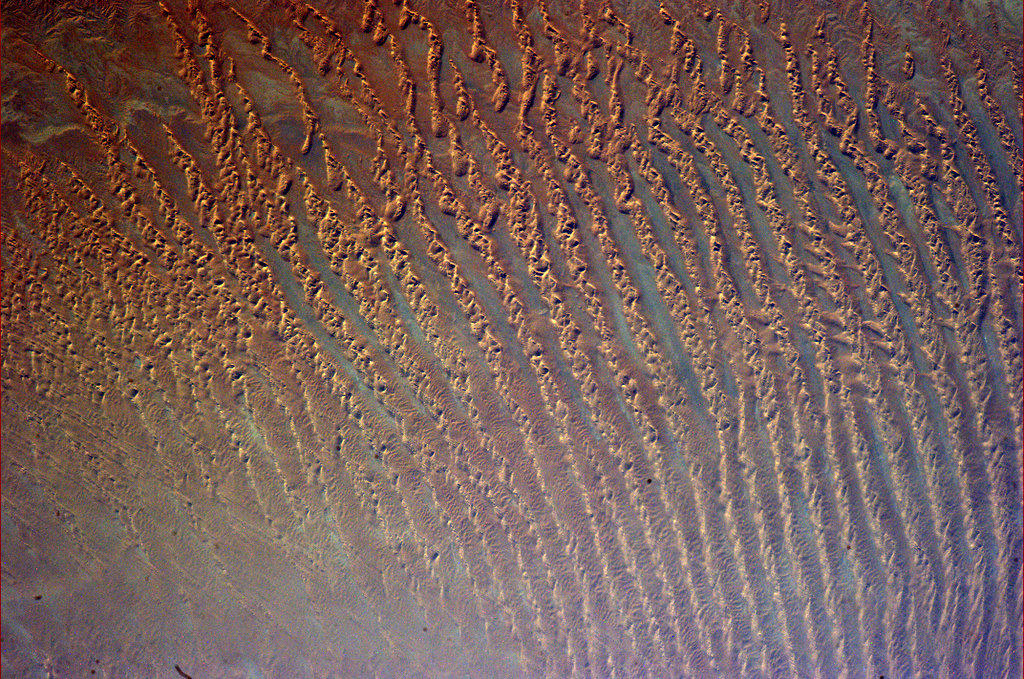 "corn-rows-sand Earth's beauty ""tweeted"" from the lens of an astronaut News and Reviews"
