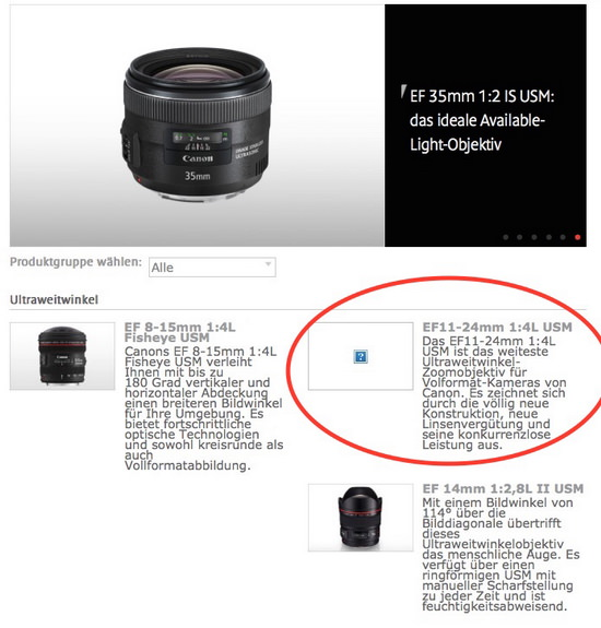 cpn-ef-11-24mm-f4l-usm-leak Canon accidentally leaks the EF 11-24mm f/4L USM wide-angle lens Rumors