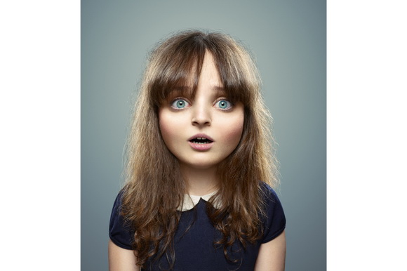 """Cristian Girotto used Adobe Photoshop to make adults look like children in the """"L'Enfant Extérieur"""" project"""
