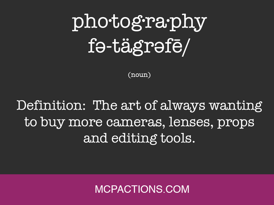 definition Funny Friday for Photographers MCP Thoughts Photography Humor