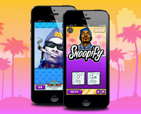 download-snoopify-app Snoop Lion releases Snoopify photo-editing app for iOS and Android devices News and Reviews