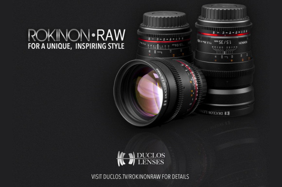 Rokinon RAW cine primes to be released soon by Duclos Lenses