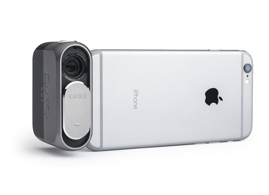 dxo-one-iphone-mount DxO ONE is a connected camera attached to an iPhone News and Reviews