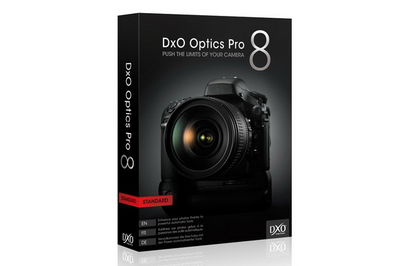 DxO Optics Pro 8.1.6 software update