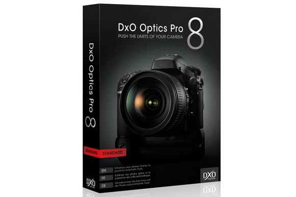 DxO Optics Pro 8.3 software update