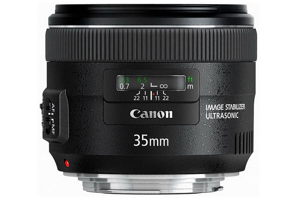 DxOMark reviewed the Canon EF 35mm f/2 IS USM lens and marked it as the 4th best lens ever tested on the 5D Mark II