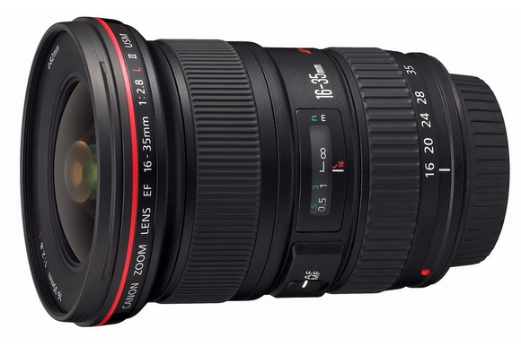 EF 16-35mm f/2.8L II USM wide-angle zoom