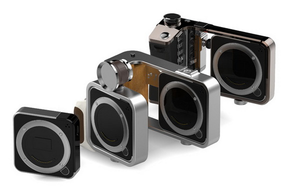Korean designers reveal Equinox, a modular concept camera