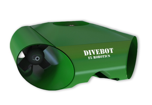 F5 Robotics' DiveBot camcorder will be able to go underwater and record HD-ready videos