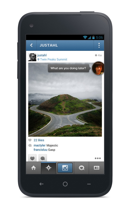 facebook-home-chat-head-preview Facebook Home announced for select Android smartphones News and Reviews