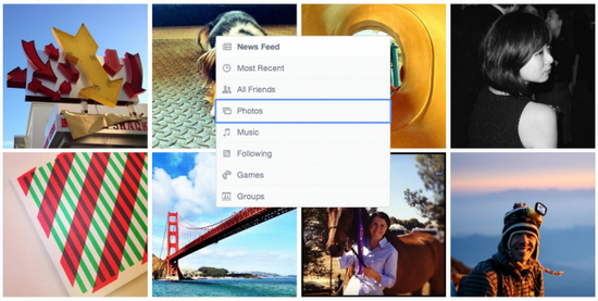 facebook-news-feed-categories Facebook unveils less cluttered News Feed design News and Reviews