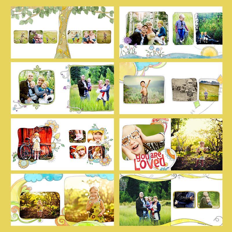 family-book Win a Gift Certificate to Simplicity Photography Design by Angela Monson Contests
