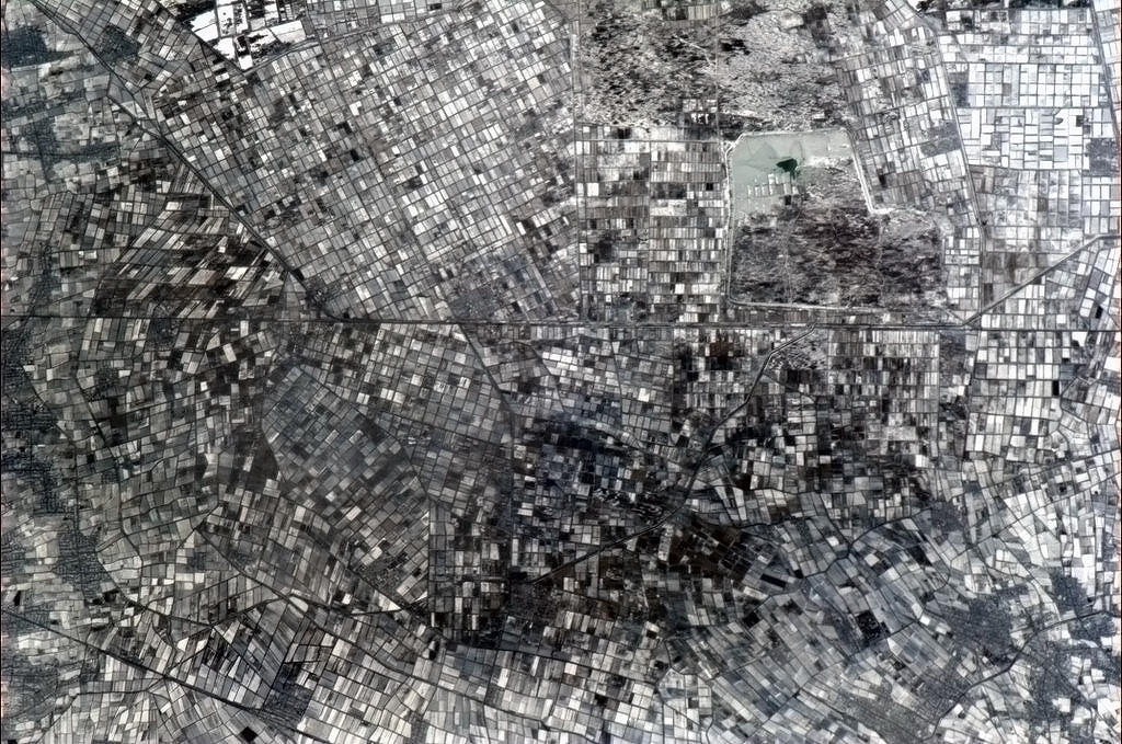 "farms-mosaic-asia Earth's beauty ""tweeted"" from the lens of an astronaut News and Reviews"