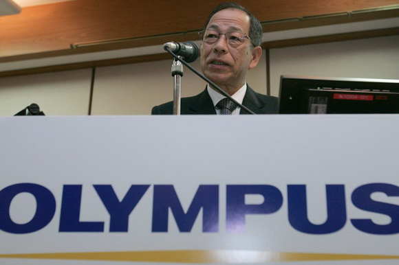 Former Olympus CEO is facing a five-year jail sentence