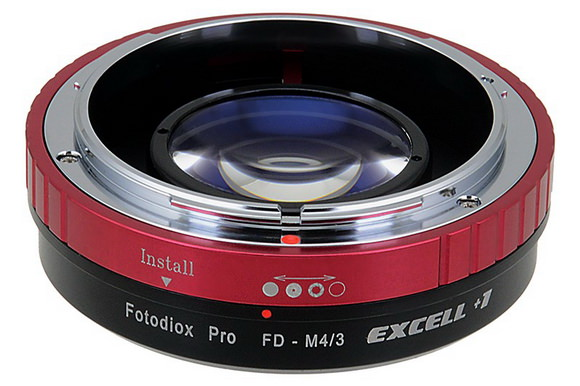 Fotodiox Excell +1 Canon to Micro Four Thirds