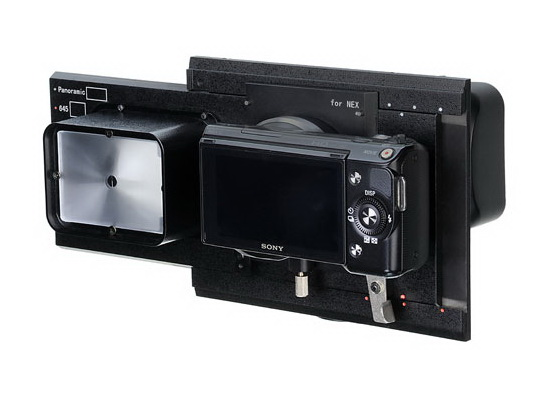 fotodiox-rhinocam-sony-nex-e-mount-cameras Fotodiox RhinoCam can turn Sony NEX cameras into medium format systems News and Reviews