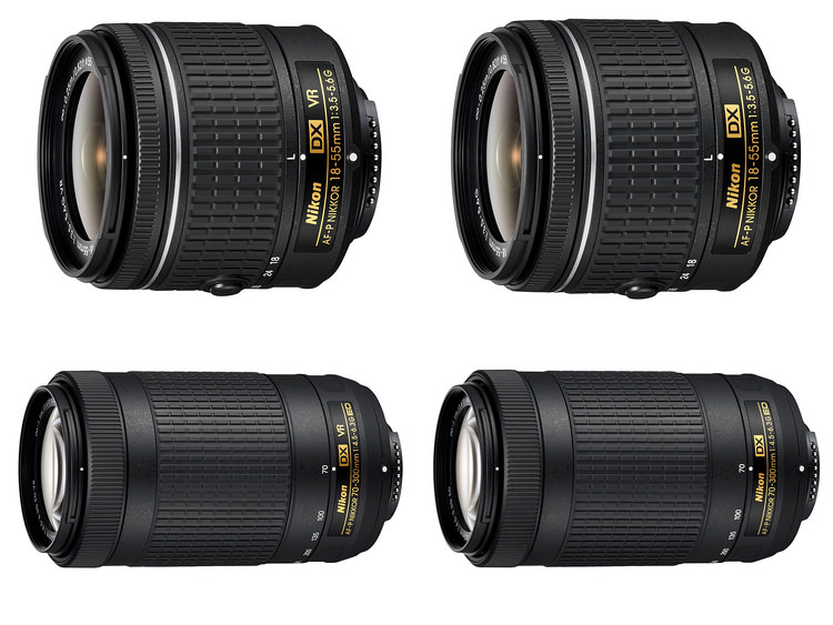 four-new-nikon-af-d-dx-zoom-lenses Nikon D3400 DSLR unveiled with SnapBridge technology News and Reviews