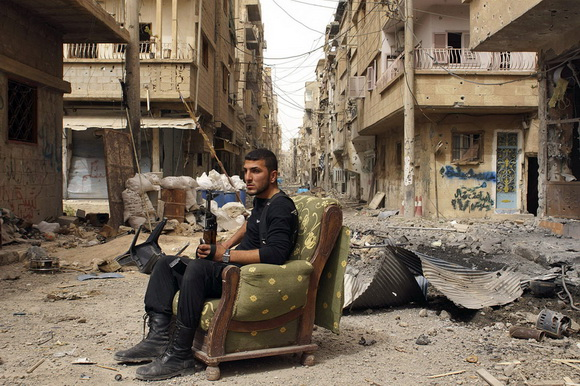 Free Syrian Army soldier