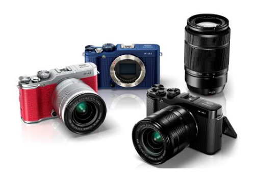 fuji-x-a1-and-50-230mm-lens Fuji X-A1 photos and press release leaked ahead of its launch Rumors