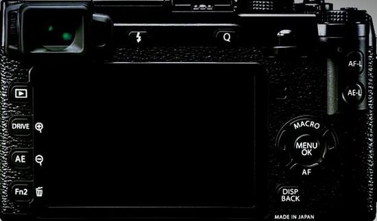 fuji-x-e2-back New Fujifilm X-E2 photo leaked online Rumors