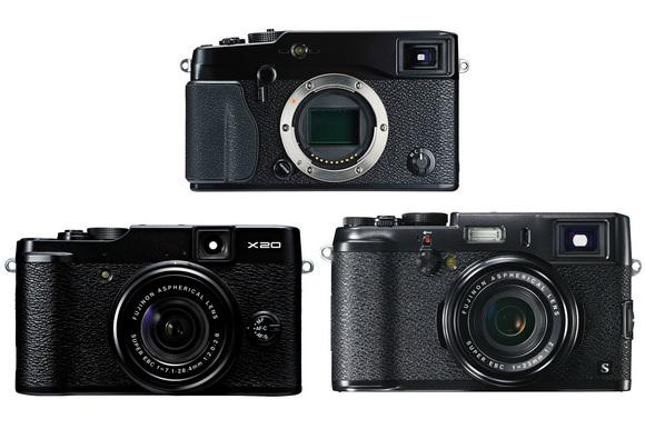 Fuji X20, X100s, X-Pro1