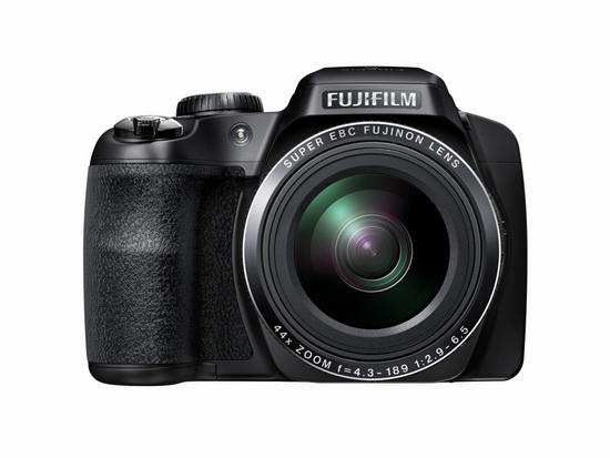 fujifilm-finepix-s8400w-black Fujifilm FinePix S8400W WiFi 44x ultra-zoom bridge camera announced News and Reviews