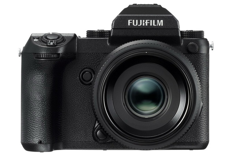 fujifilm-gfx-50s-front Fujifilm GFX 50S medium format mirrorless camera officially announced Featured News and Reviews