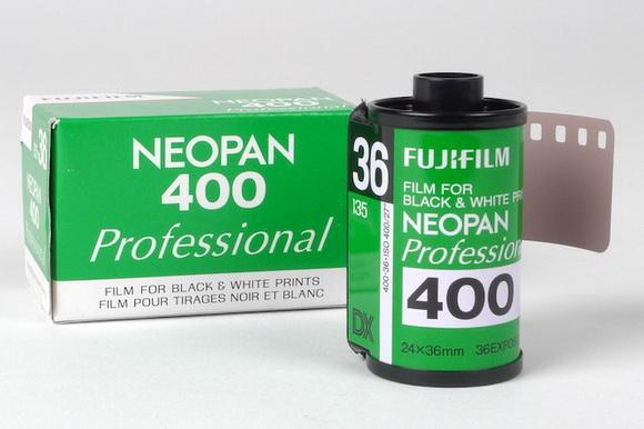 Fujifilm Neopan 400 B&W
