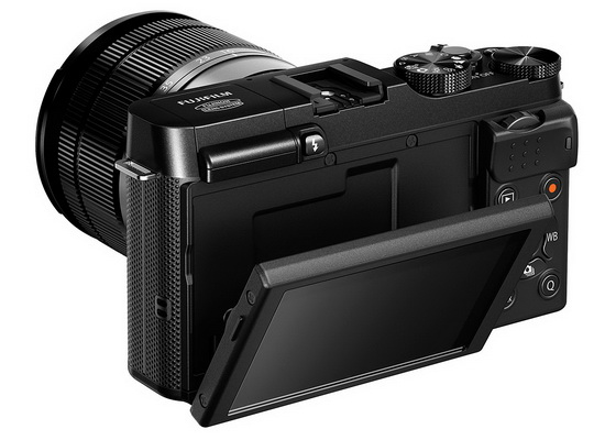 fujifilm-x-a1-tilting-screen Fujifilm X-A1 becomes official along with XC 50-230mm lens News and Reviews