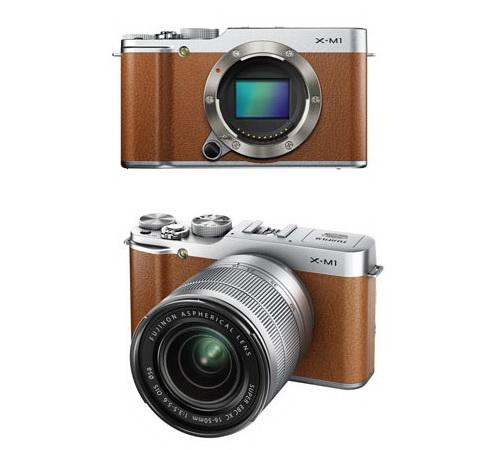 fujifilm-x-m1-brown More Fujifilm X-M1 specs and photos leaked online Rumors