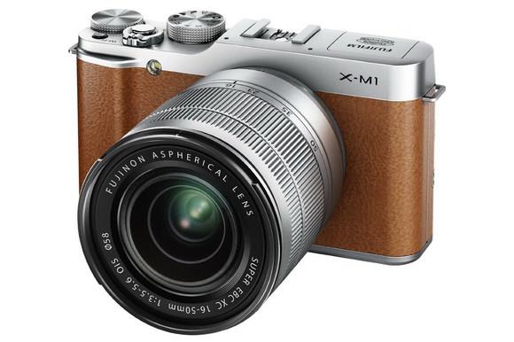 Fujifilm X-M1 mirrorless camera