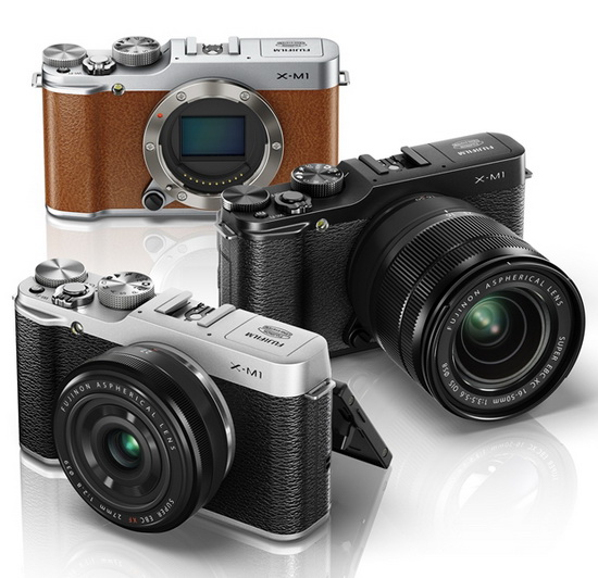 fujifilm-x-m1-x-trans-camera1 Fujifilm X-M1 entry-level X-Trans camera officially announced News and Reviews