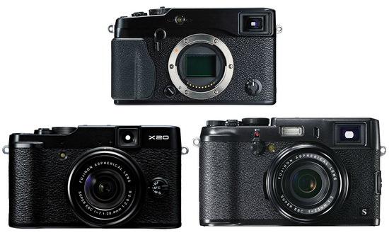 fujifilm-x-pro1-x100s-x20 Fujifilm X100s replacement and X-Pro2 set for Photokina launch Rumors