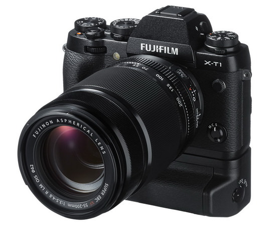 fujifilm-x-t1-vertical-battery-grip Weathersealed Fujifilm X-T1 camera officially announced News and Reviews