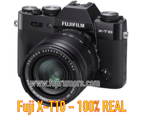 fujifilm-x-t10-black-leaked First Fujifilm X-T10 photos leaked before its announcement Rumors