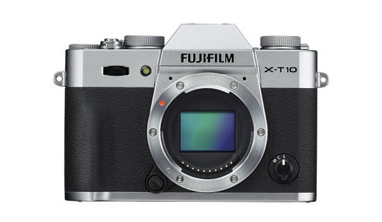 fujifilm-x-t10-silver-front-leaked New Fuji X-T10 photos reveal a few design changes Rumors