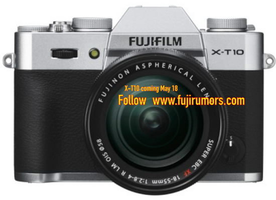 fujifilm-x-t10-silver-leaked First Fujifilm X-T10 photos leaked before its announcement Rumors