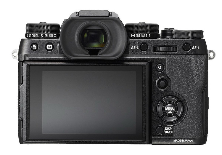 fujifilm-x-t2-back Fujifilm X-T2 is official with 24.3MP sensor, 4K, WiFi, and more News and Reviews