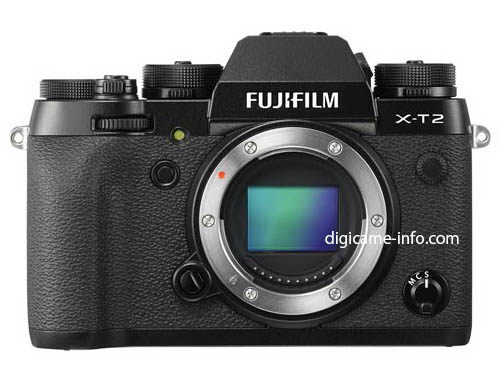 fujifilm-x-t2-front-leaked Fujifilm X-T2 photos and specs leaked before launch event Rumors