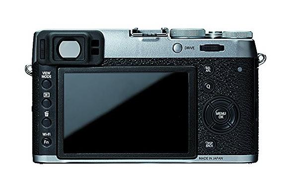 Fujifilm X100T hybrid viewfinder