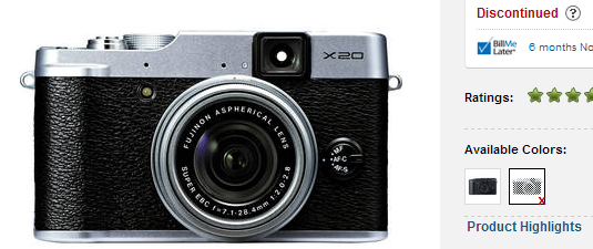 fujifilm-x20-discontinued Fujifilm X20 discontinued to pave the way for Fuji X30 Rumors
