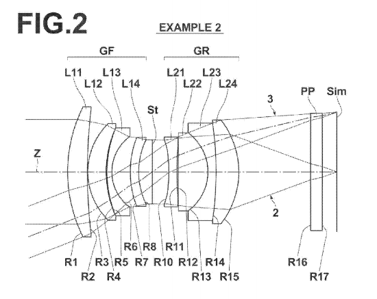 fujifilm-xf-35mm-f1.4-ii-patent Fujifilm XF 35mm f/1.4 II lens patent uncovered at the USPTO Rumors