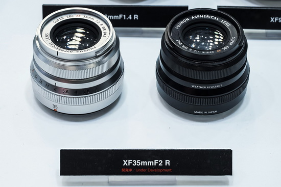 fujifilm-xf-35mm-f2-r-wr-cp-2015 Fujifilm XF 35mm f/2 R WR lens photos straight from CP+ 2015 News and Reviews