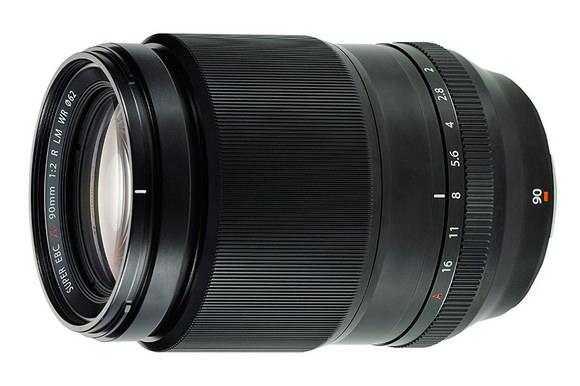Fujinon XF 90mm f/2 R LM WR