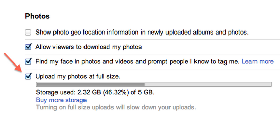 full-resolution-photos-google Desktop users can now upload full-resolution photos on Google+ News and Reviews