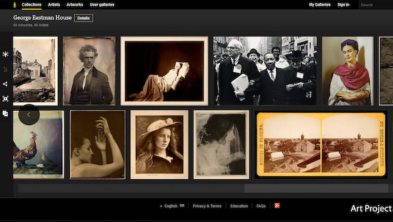 george-eastman-house-google-art George Eastman House is the first photo museum to feature in Google Art Project News and Reviews