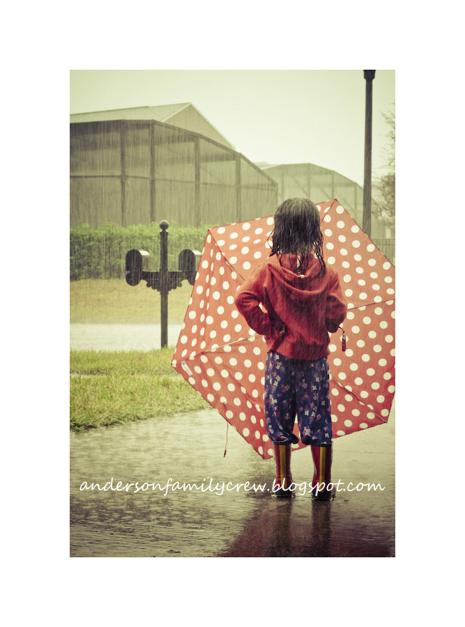 girl-in-pouring-rain April Showers - Photos of Rain, Umbrellas, Boots, and More... Activities Photo Sharing & Inspiration