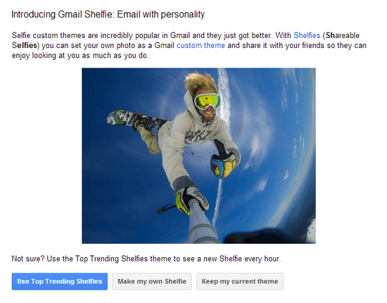 gmail-shelfie Samsung, Google, and others celebrate April Fools' Day Fun